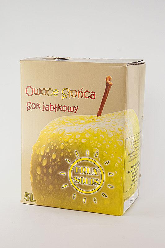 Prawdziwy Sok Jabłkowy - FRUX SOLIS
